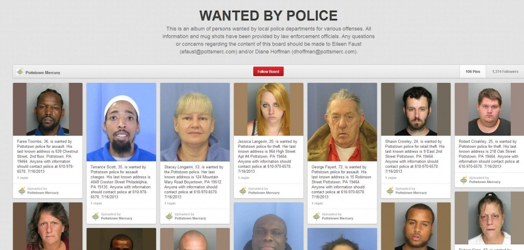 Pinterest wanted people